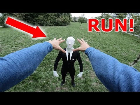 SLENDERMAN VS PARKOUR