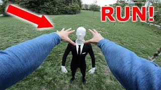 SLENDERMAN VS PARKOUR IN REAL LIFE