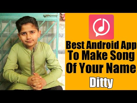 Best Android App To Make Song Of Your Name | Technical MJ
