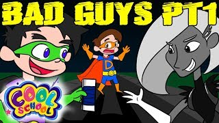 Cruel School Bad Guys Revenge on Super Drew Part 1 | A Stupendous Drew Pendous Superhero Story