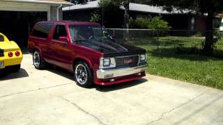 GMC Jimmy 1st Test Drive After Paint/Reassembly