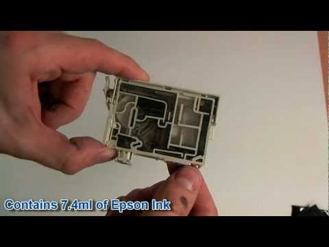 how to refill an epson t1811 xl 18 18xl ink cartridge. Black Bedroom Furniture Sets. Home Design Ideas