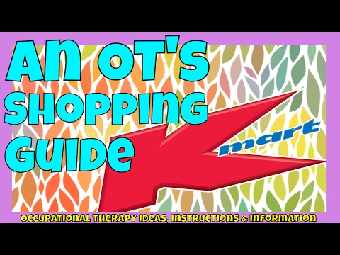 Kmart Australia: Therapy resources | Part 1 | Cheap and fun resources