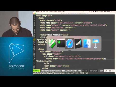 PolyConf 14: Creating a chat application in 15 minutes with Phoenix / Darko Fabijan