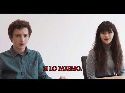 LEGENDADO: Entrevista com Malina Weissman e Louis Hynes (Desventuras em Série)