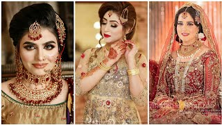 Most Beautiful bridal  makeup …