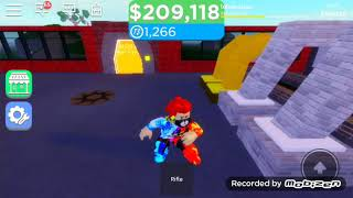 Ieu play with a friend on Roblox tycoon Ep3