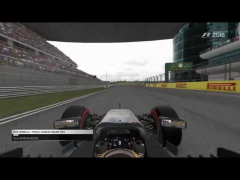 F1 2016 career Round 3: China