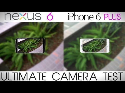 Nexus 6 vs iPhone 6 Plus - Camera Comparison Test