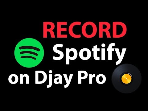 Record a MIX Djay Pro 1-2 with Spotify!