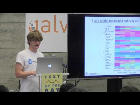 Text By the Bay 2015: Richard Socher, Deep Learning for Natural Language Processing