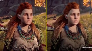 Horizon Zero Dawn E3 2016 vs 2017 Taipei Game Show Gameplay Early Graphics Comparison