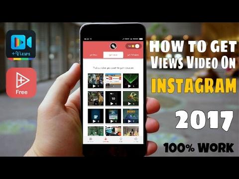 Get Free Video Views Instagram | 2018