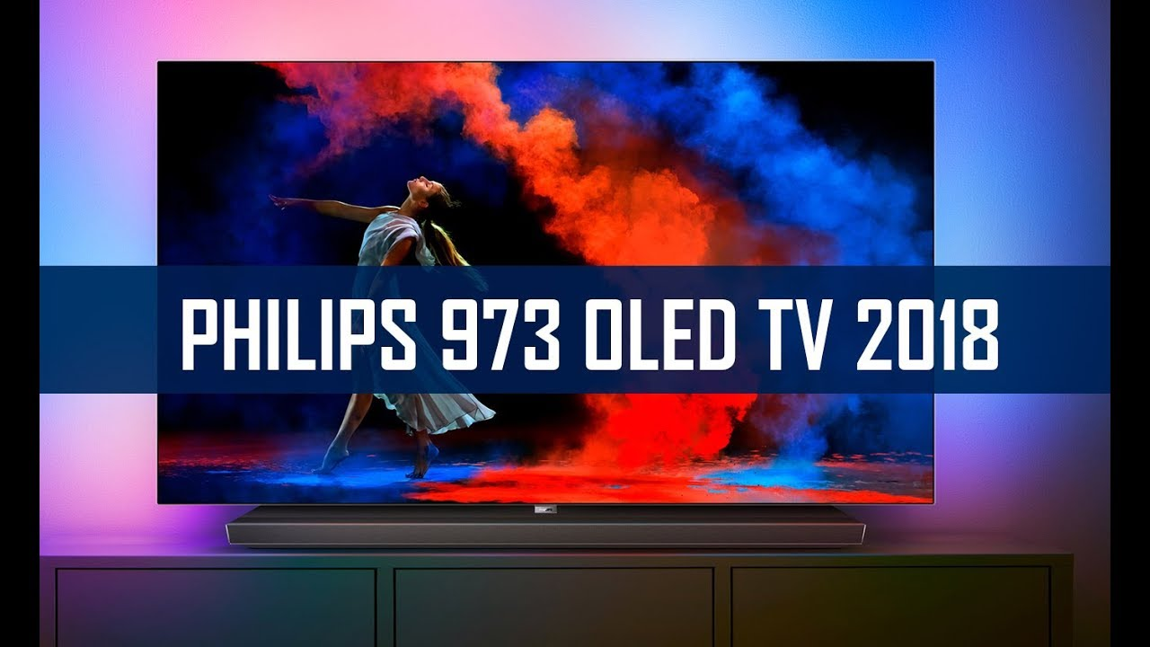 philips oled 973 2018 uhd tv mit ambilight im hands on youtube. Black Bedroom Furniture Sets. Home Design Ideas