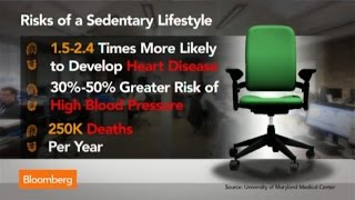 Get Up, Lose Weight: How Your Chair Is Killing You