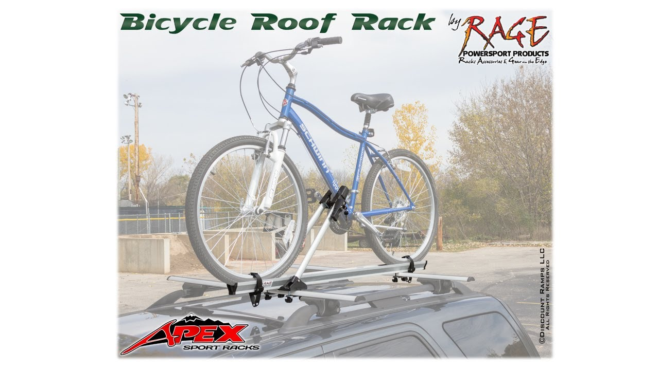 BC 208   Bicycle Roof Rack   YouTube