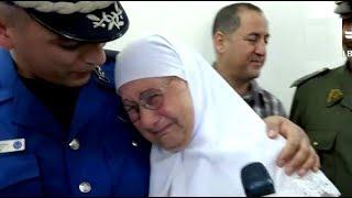 الأم التي أبكت الجزائريين يوم العيد
