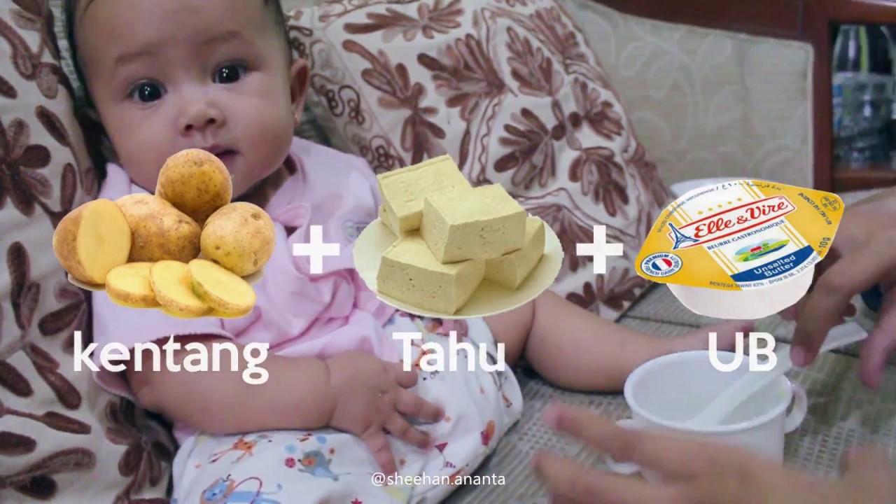 Resep Mpasi Kentang Tahu Untuk Bayi Youtube