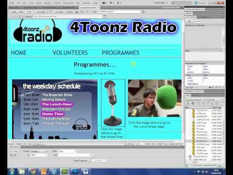 CiDA DA201 - 4Toonz Radio - Exam Walk-through #1