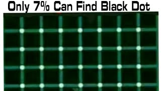 Can you Guess How Many Black Dots ??