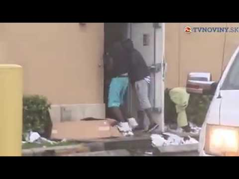 Chaos využili zlodeji vo Floride