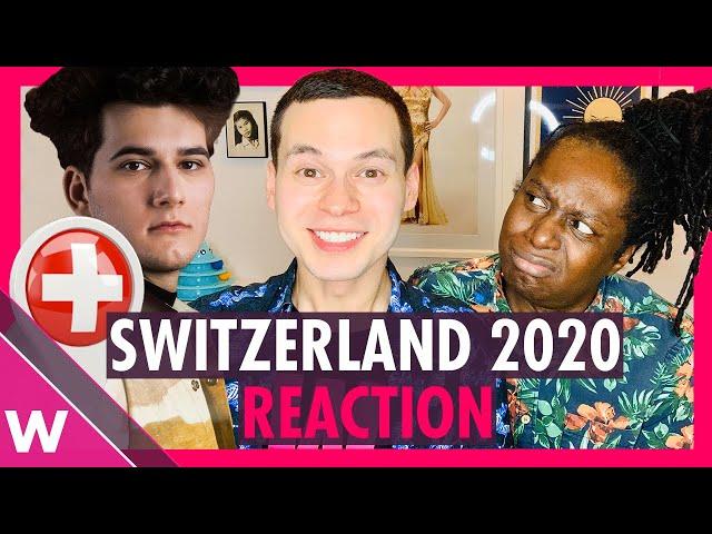 Switzerland Eurovision 2020 Reaction   Gjon's Tears