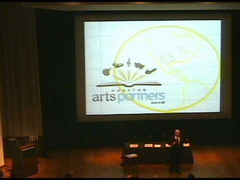 Houston Arts Partners - September 14, 2012 - Keynote