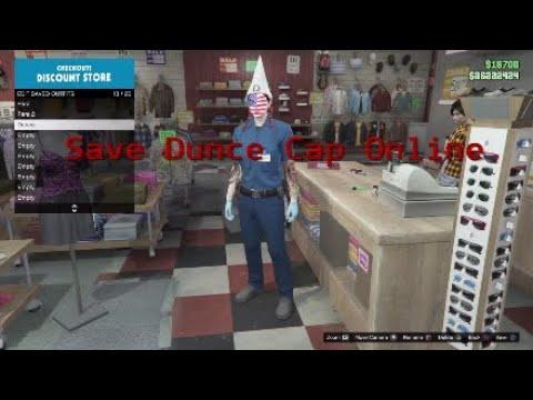 SAVE DUNCE CAP ONLINE|Gta5 Online