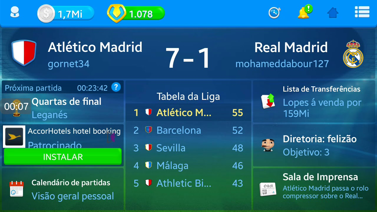 Calendario Real Madrid 2019.Osm Atletico Madrid 7x1 Real Madrid Com 433b Dicas