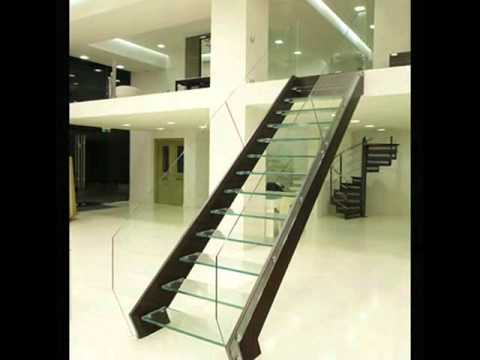 Metal floating stairs interscala youtube for Free floating stairs