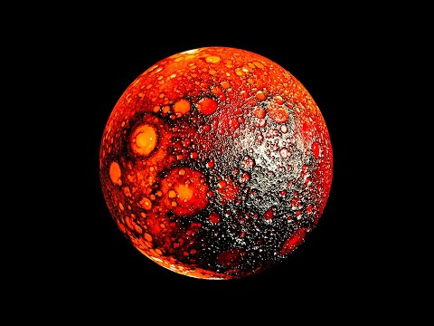 An Extreme Planet with Fire Oceans and Rocks for Rain |