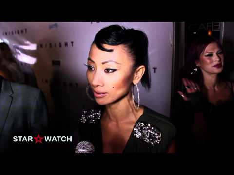 Bai Ling interview at InSight pre-release party