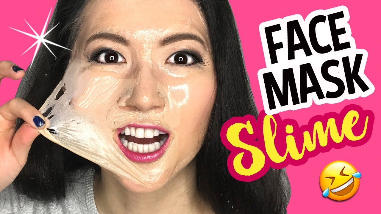Diy clear jelly facemask slime without glue make scented soft diy clear jelly facemask slime without glue make scented soft slime solutioingenieria Images