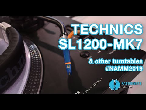 Technics SL1200-mk7 (and other turntables at #NAMM2019) Mp3