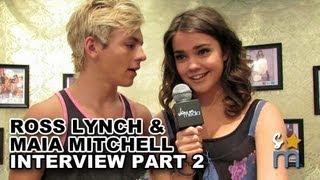 Ross Lynch & Maia Mitchell Talk R5 &
