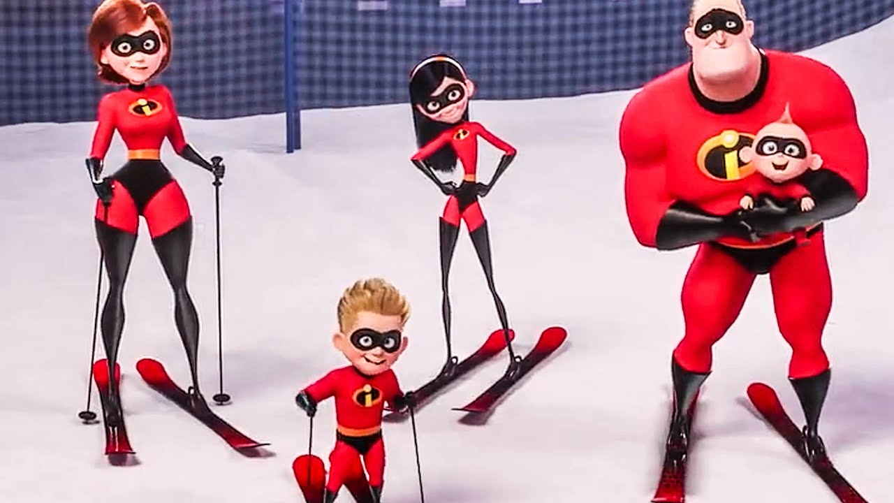 Incredibles 2 All Olympia Character Clips Trailer 2018 Youtube