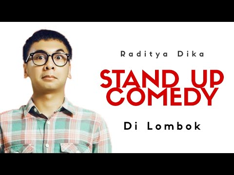 Stand Up Comedy Raditya Dika @ Lombok Plaza Hotel