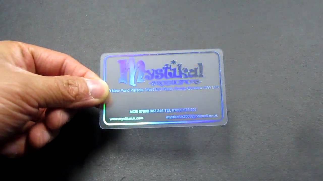 Exelent hologram business cards ornament business card ideas nice hologram business cards ornament business card ideas etadam colourmoves