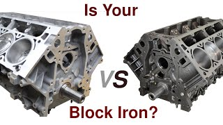Determine GM v8 Block Type, Why it's Important.