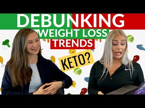 Health Professional Debunks Weight Loss Trends + FAD Diets + KETO | BONUS Q&A thumbnail