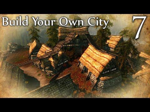 Skyrim Mods: Build Your Own City - Part 7