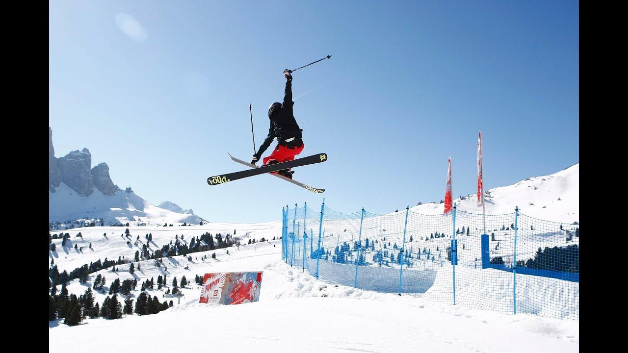 Best of freestyle skiing in val gardena | gr�den