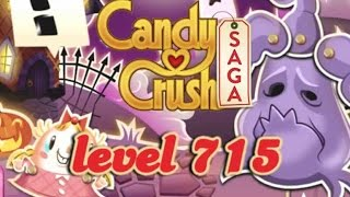 Candy Crush Saga Level 715 - ★★★