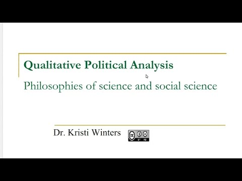 How to social science 101 Philosophy of Social Science
