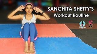 Sanchita Shetty's Fitness Seceret | Beginners Workout Routine - #1 | Celeb Focus | Soigné Store