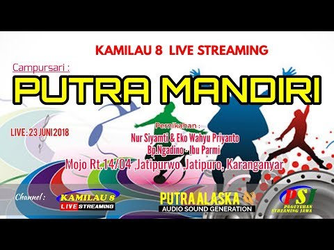 KAMILAU 8 LIVE MOJO JATIPURO, //PUTRA ALASKA SOUND