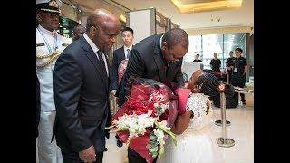 President Uhuru Kenyatta's list of bargaining points while visiting China