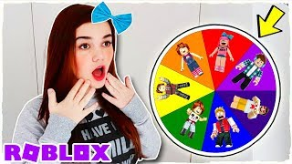 MYSTERIOUS ROBLOX YOUTUBERS ROULETTE