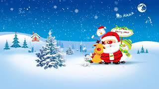 Рождество.  Видео открытка с Рождеством.