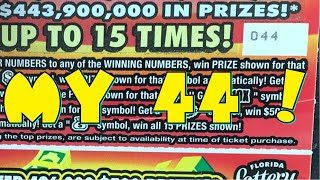 $20 in Florida Lottery Scratch…